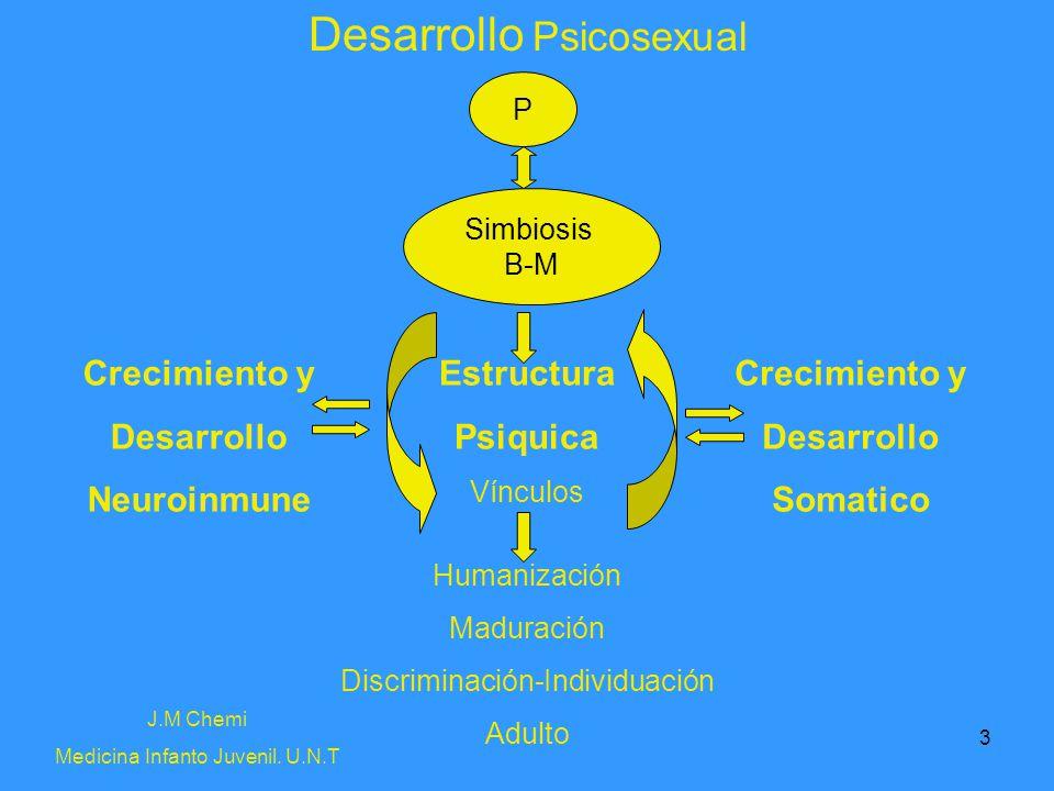 3 Desarrollo Psicosexual Crecimiento y Desarrollo Neuroinmune Crecimiento y Desarrollo Somatico Estructura Psiquica Vínculos Humanización Maduración D