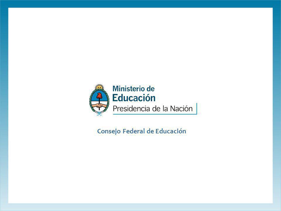 Consejo Federal de Educación
