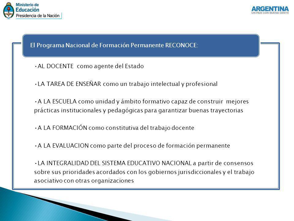Instalar una cultura de la formación permanente y de la evaluación participativa.