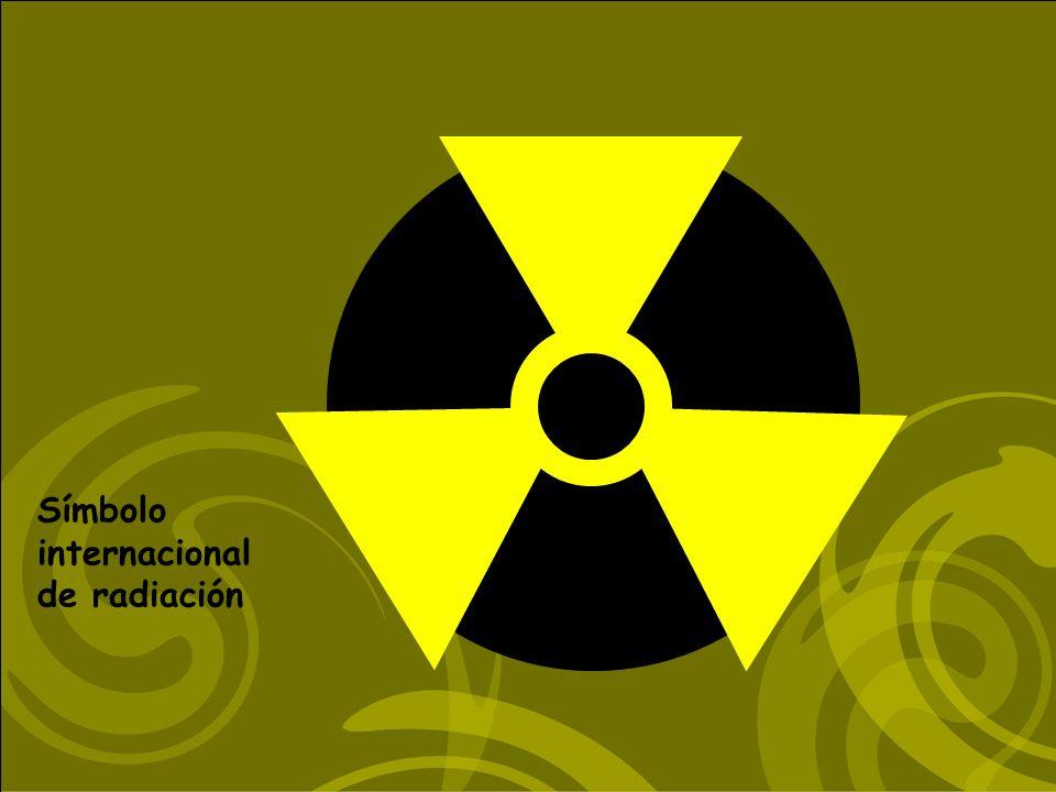 Símbolo internacional de radiación