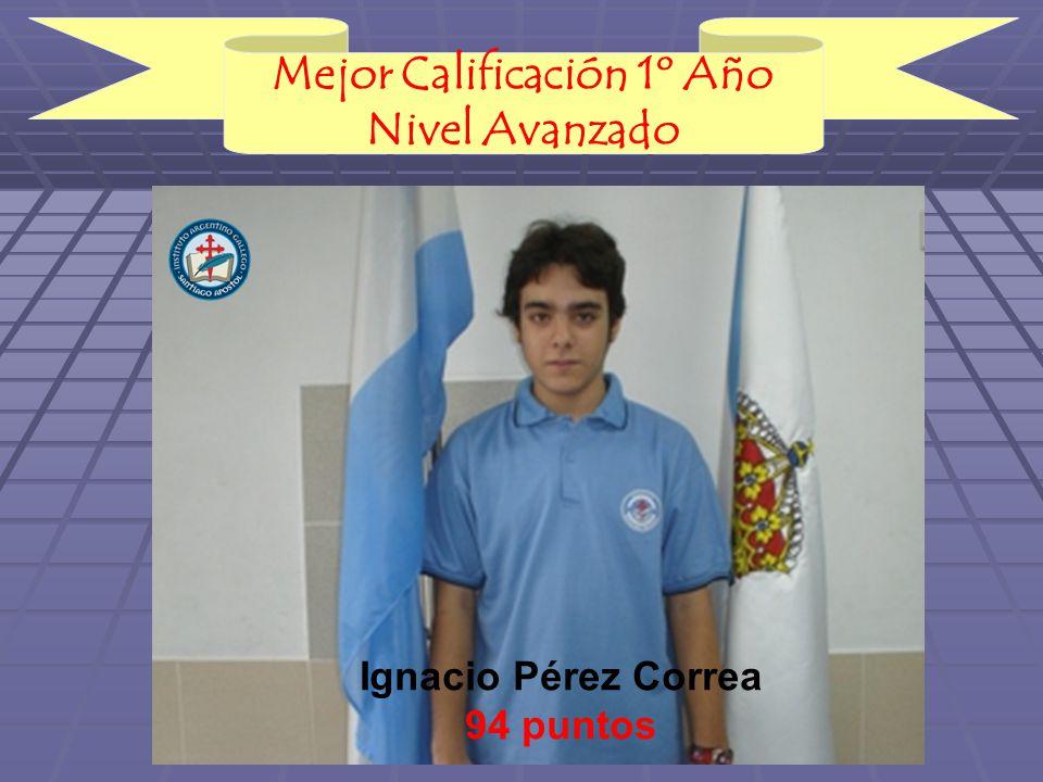 Ignacio Pérez Correa 94 puntos