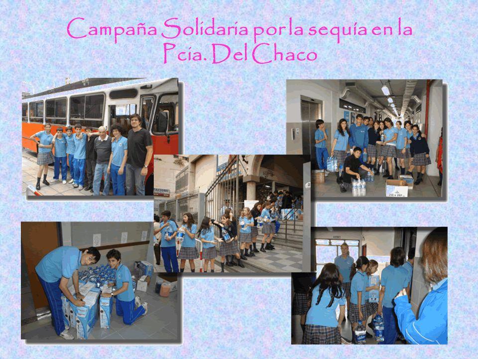Campaña Solidaria por la sequía en la Pcia. Del Chaco
