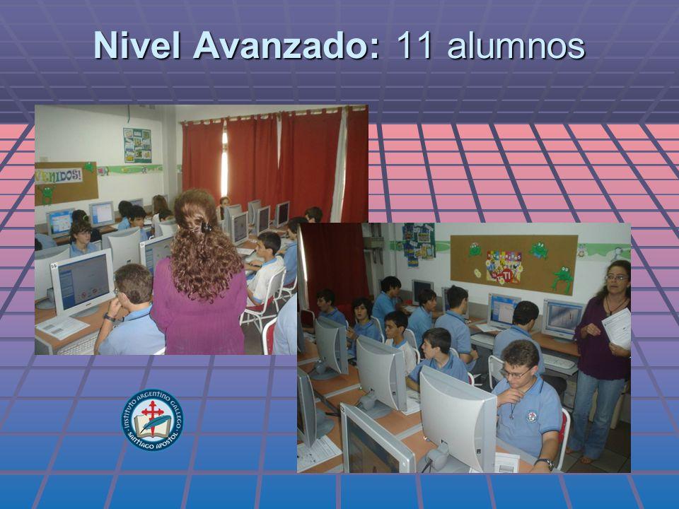 Nivel Avanzado: 11 alumnos
