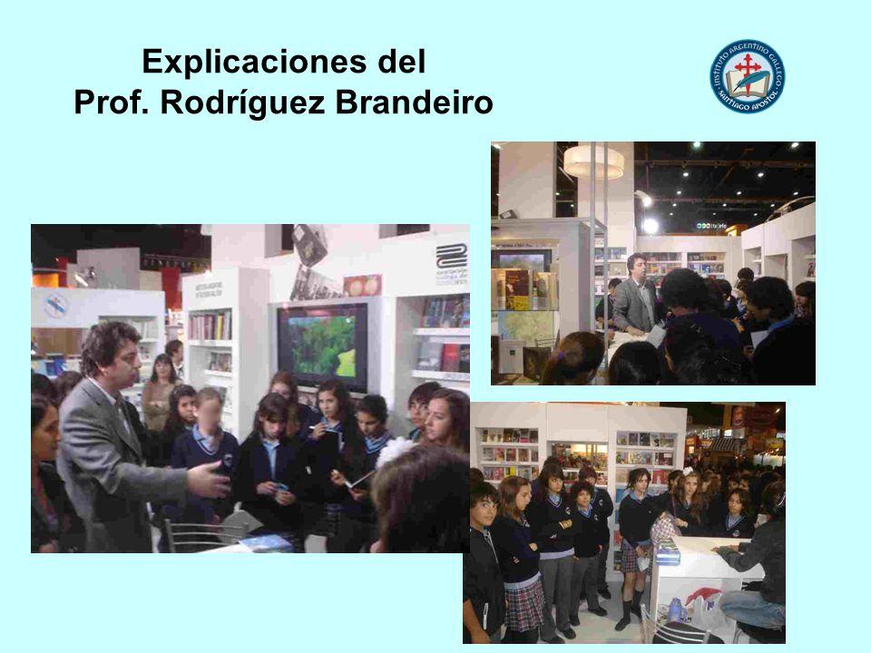 Explicaciones del Prof. Rodríguez Brandeiro