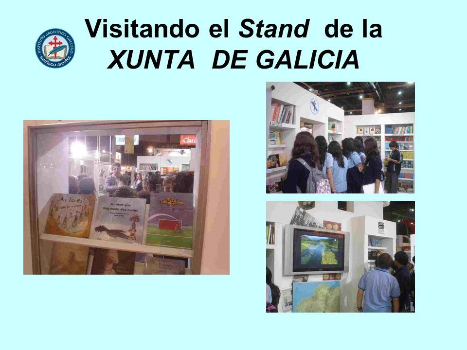 Visitando el Stand de la XUNTA DE GALICIA