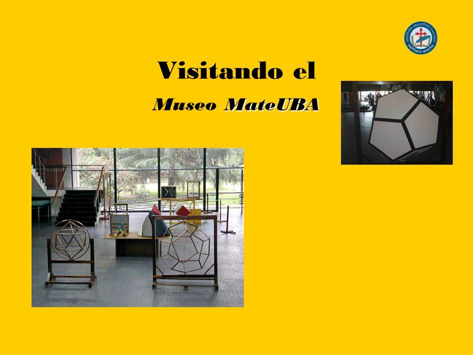 MateUBA Visitando el Museo MateUBA