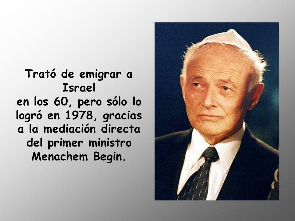 Sobrevivió a la guerra y al Holocausto, pero su negativa a jurar fidelidad al régimen de Ceaucescu le causó muchos problemas.