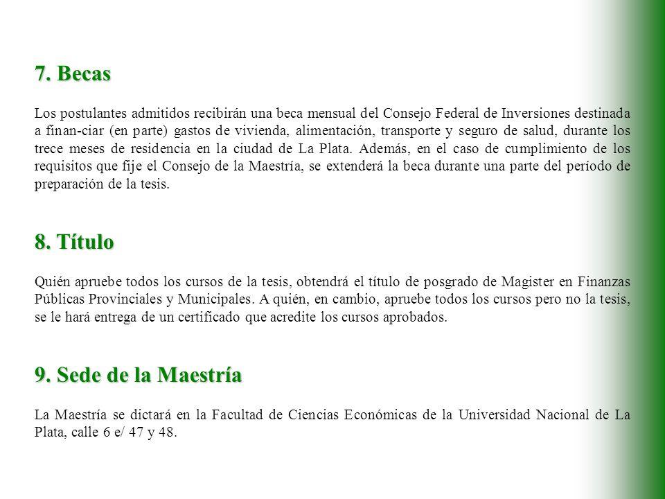 10.Inscripción y Comienzo de Clases Inscripción: 12 de febrero al 30 de abril de 2001.