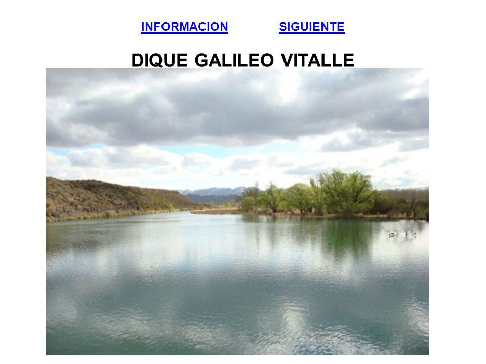 INFORMACIONINFORMACION SIGUIENTE DIQUE GALILEO VITALLESIGUIENTE