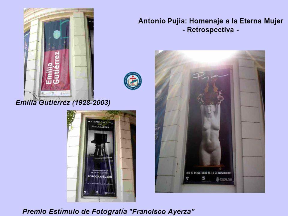 Antonio Pujia: Homenaje a la Eterna Mujer - Retrospectiva - Premio Estímulo de Fotografía Francisco Ayerza Emilia Gutiérrez (1928-2003)
