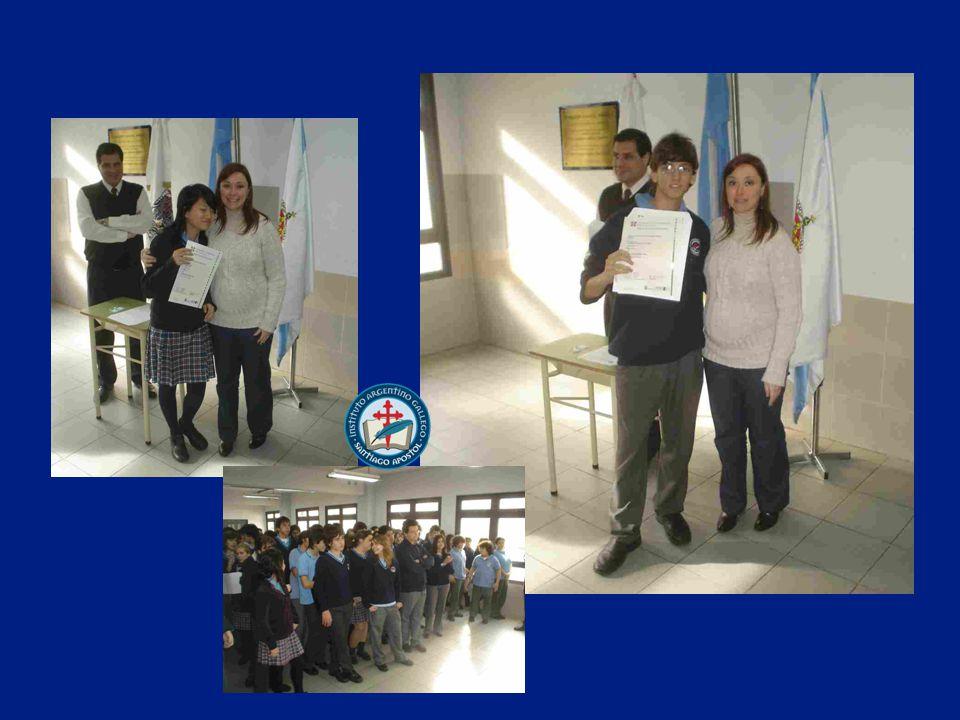Juan Ignacio aprobó su examen con Mérito Pass with Merit