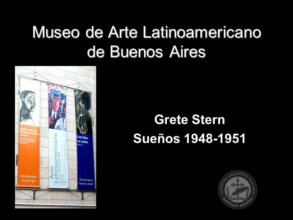 Museo de Arte Latinoamericano de Buenos Aires Grete Stern Sueños 1948-1951