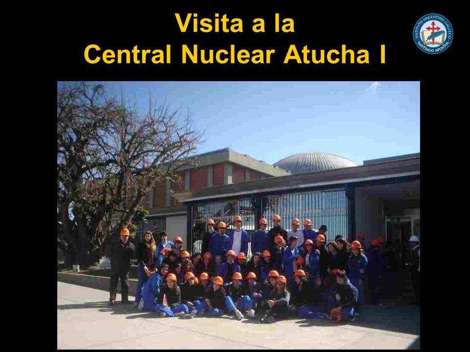 Objetivos específicos Realizar una experiencia directa sobre el funcionamiento de una central atómica.