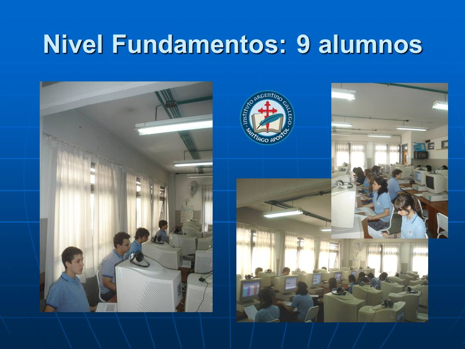 Nivel Fundamentos: 9 alumnos