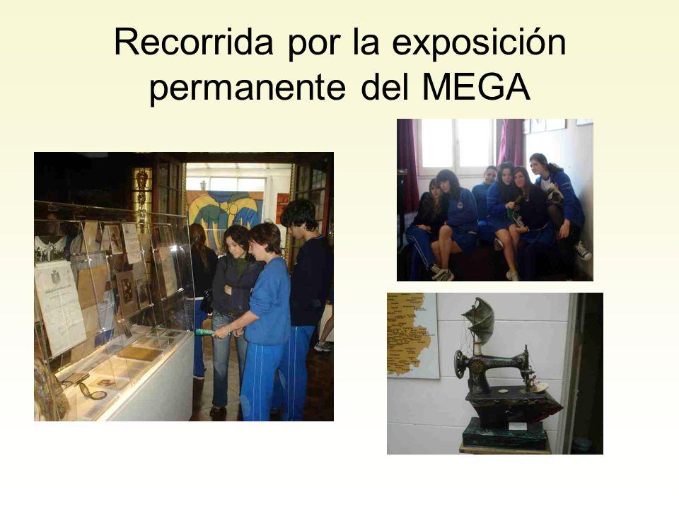 Recorrida por la exposición permanente del MEGA