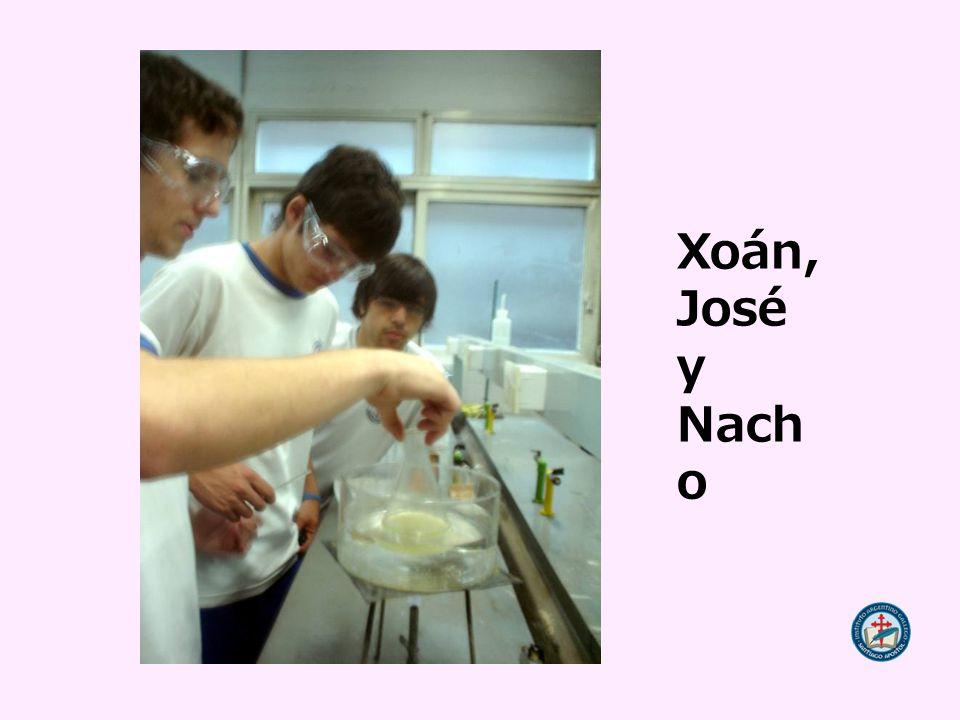 Xoán, José y Nach o