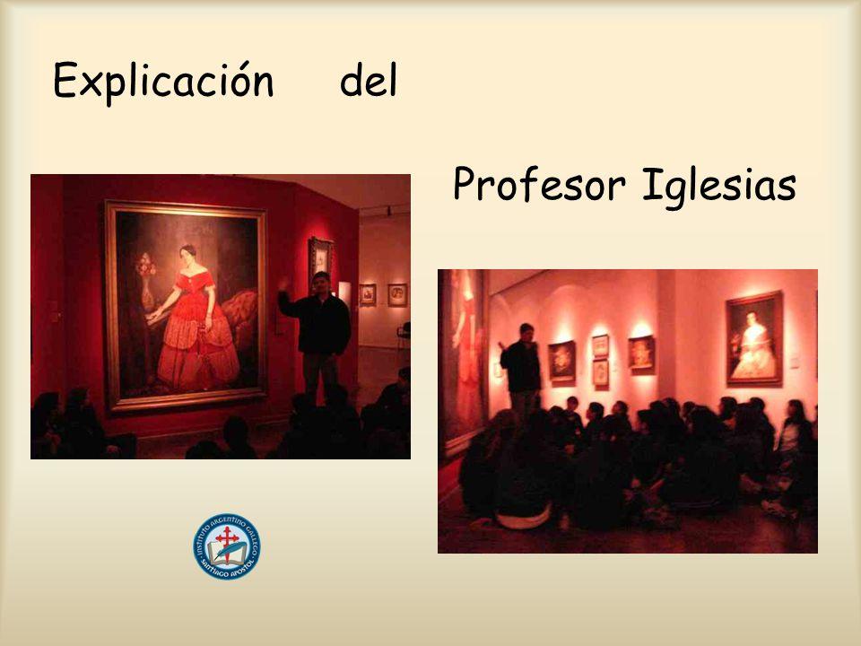 Explicación del Profesor Iglesias
