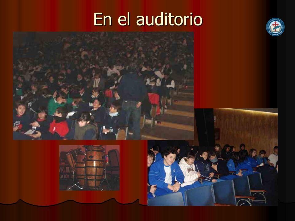 En el auditorio
