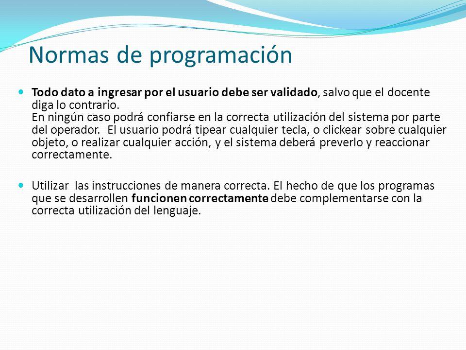 La entrega de cada trabajo práctico se hará mediante el Campus Virtual salvo que el docente disponga para algún caso en particular otro mecanismo.