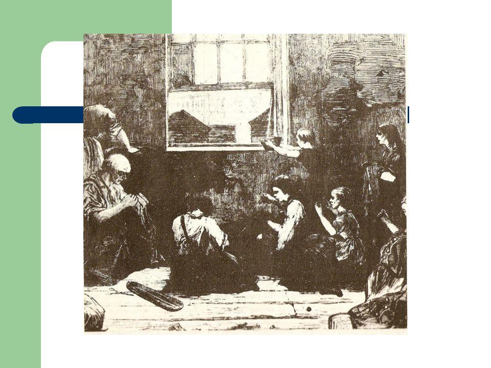 Dos periodos 1760-1820 1830-1850 Peores condiciones de trabajo Agravado por malas cosechas y aumento Del precio del cereal.