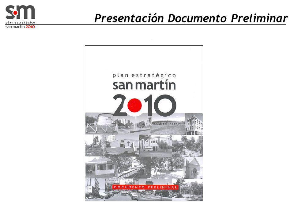 Presentación Documento Preliminar