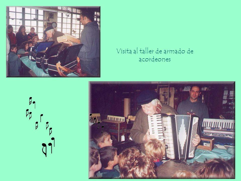 Conocieron y reconocieron instrumentos musicales como: flautas, viola, violonchelo, violines, órgano, fagot, oboe, clarinete, acordeón, quena, charang