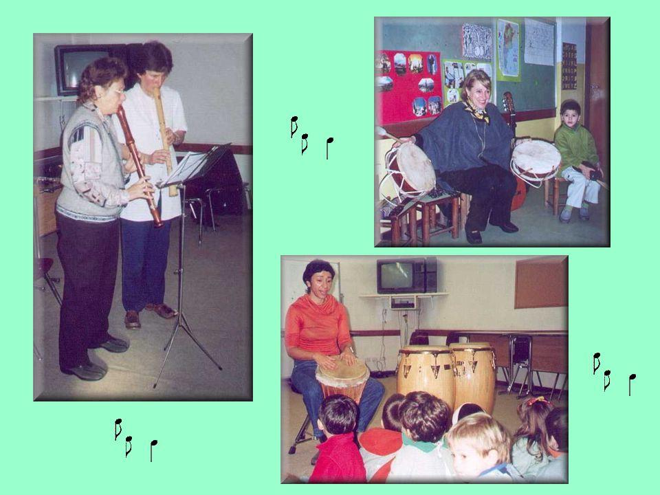 Los niños se apropiaron de la música con todos los sentidos.