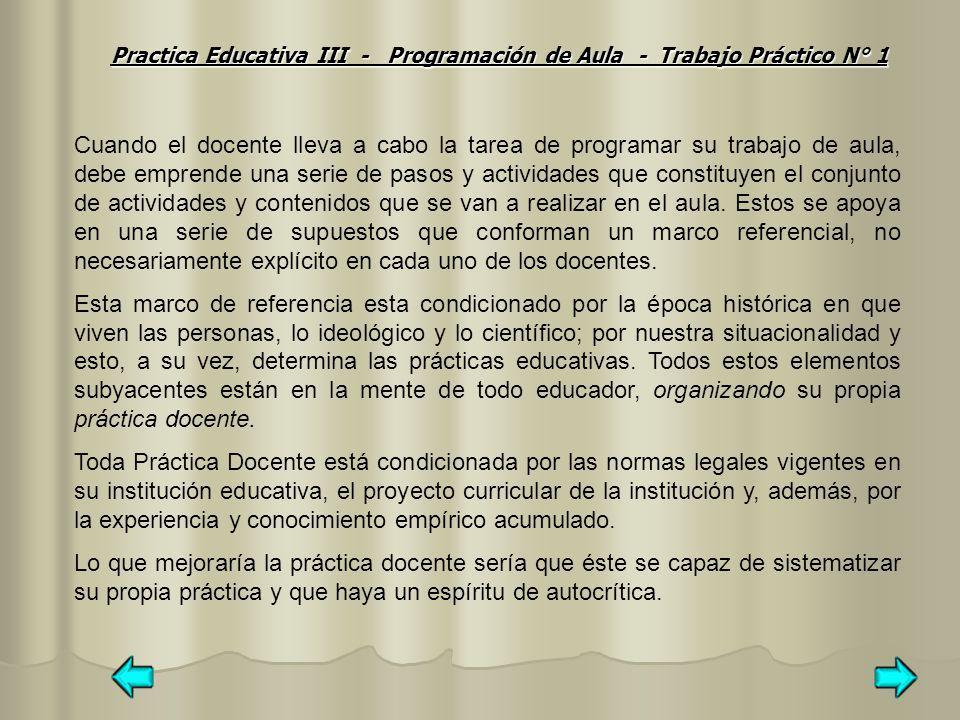 Las unidades didácticas como unidades de Programación y actuación docente Las unidades didácticas son las unidades de programación y de actuación a nivel de aula.