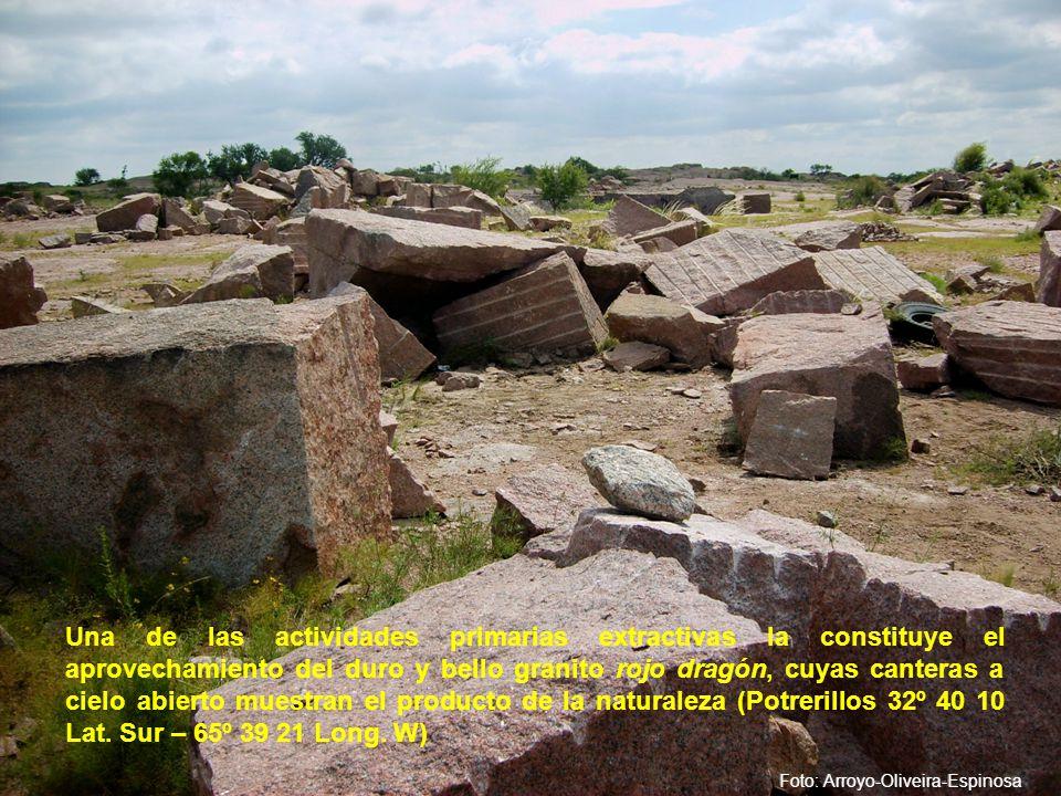 Los símbolos de la religiosidad del habitante serrano, se despliegan en cada una de las localidades del interior, siendo una impronta dejada por la colonización española.