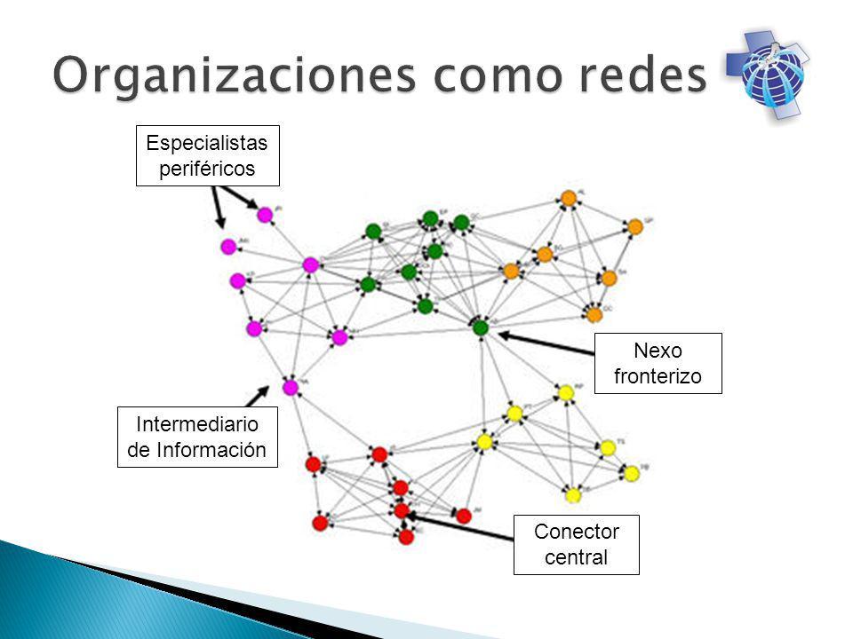 Especialistas periféricos Intermediario de Información Conector central Nexo fronterizo