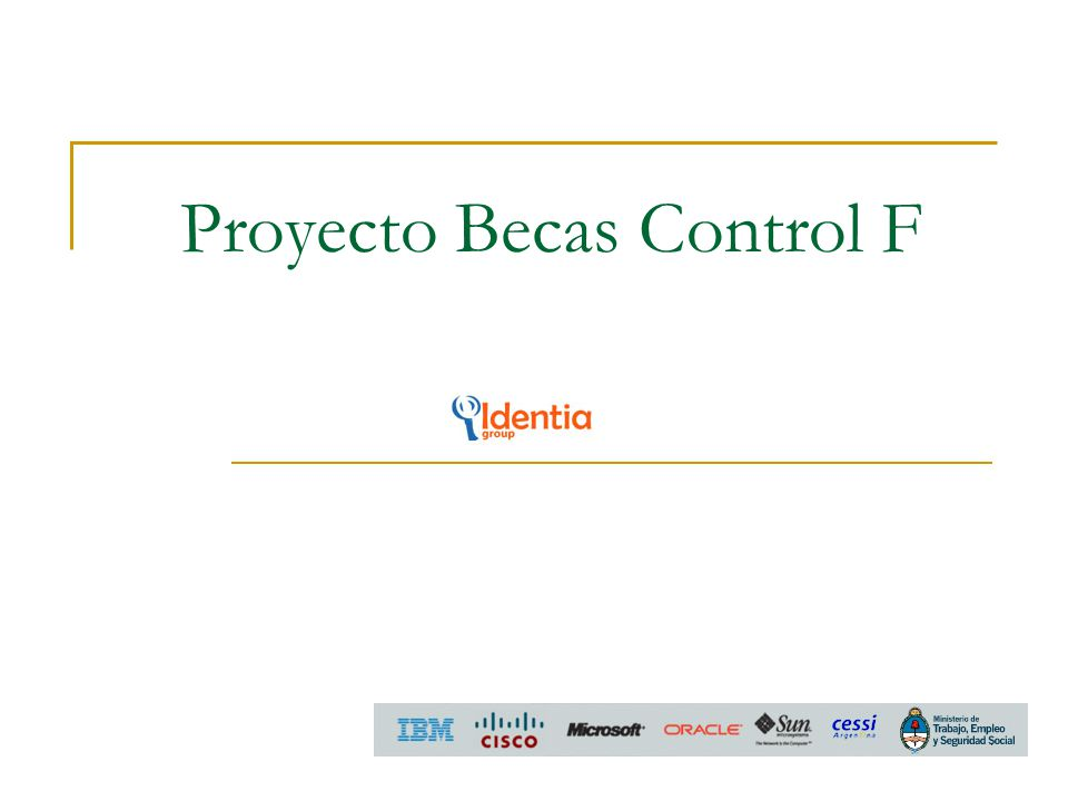 Proyecto Becas Control F