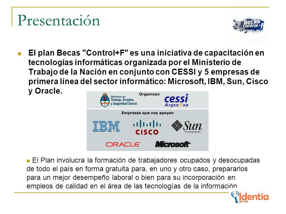 Presentación El plan Becas