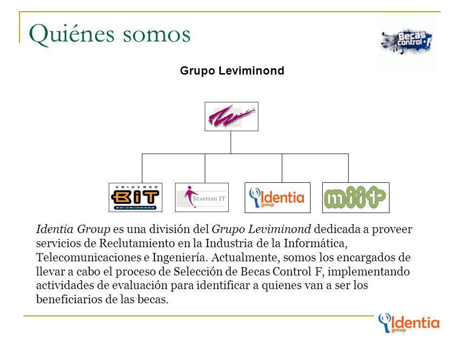 Quiénes somos Grupo Leviminond Identia Group es una división del Grupo Leviminond dedicada a proveer servicios de Reclutamiento en la Industria de la Informática, Telecomunicaciones e Ingeniería.