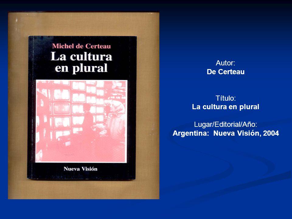Autor: Malosetti Costa, Laura Título: Cuadros de viajes Lugar/Editorial/Año: Argentina: Fondo de Cultura Económica, 2008