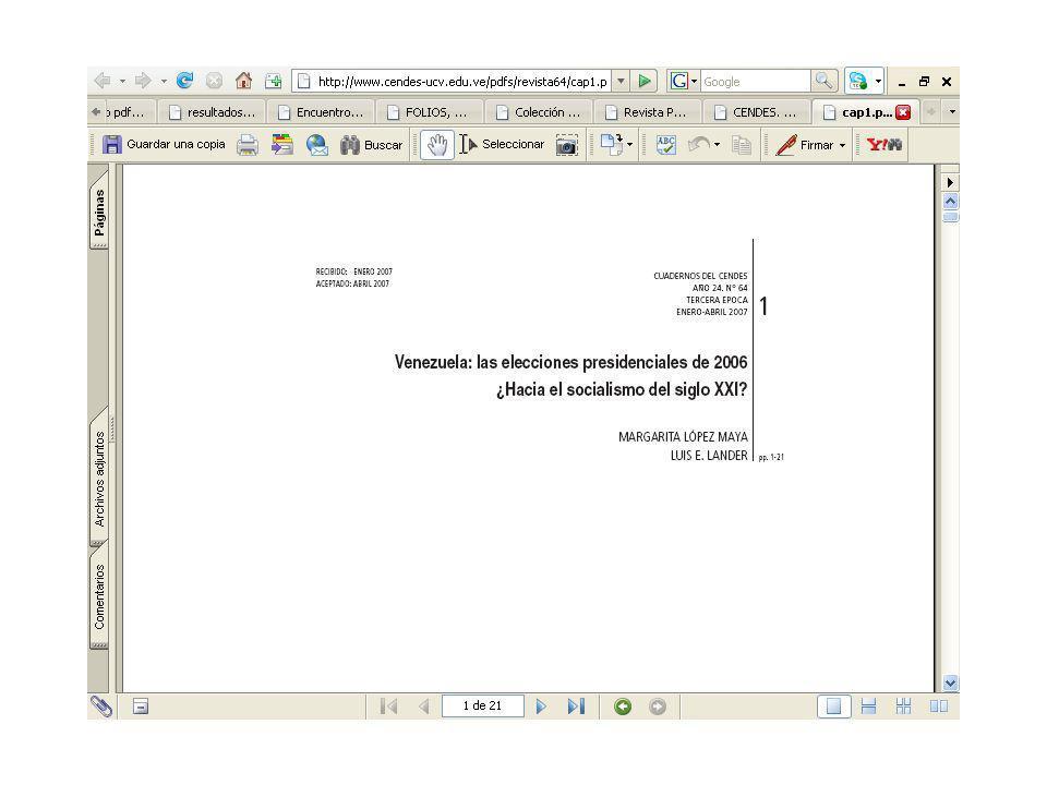Cómo se difunde Tiene su lugar en la Hemeroteca Electrónica del sitio WEB del IIGG.