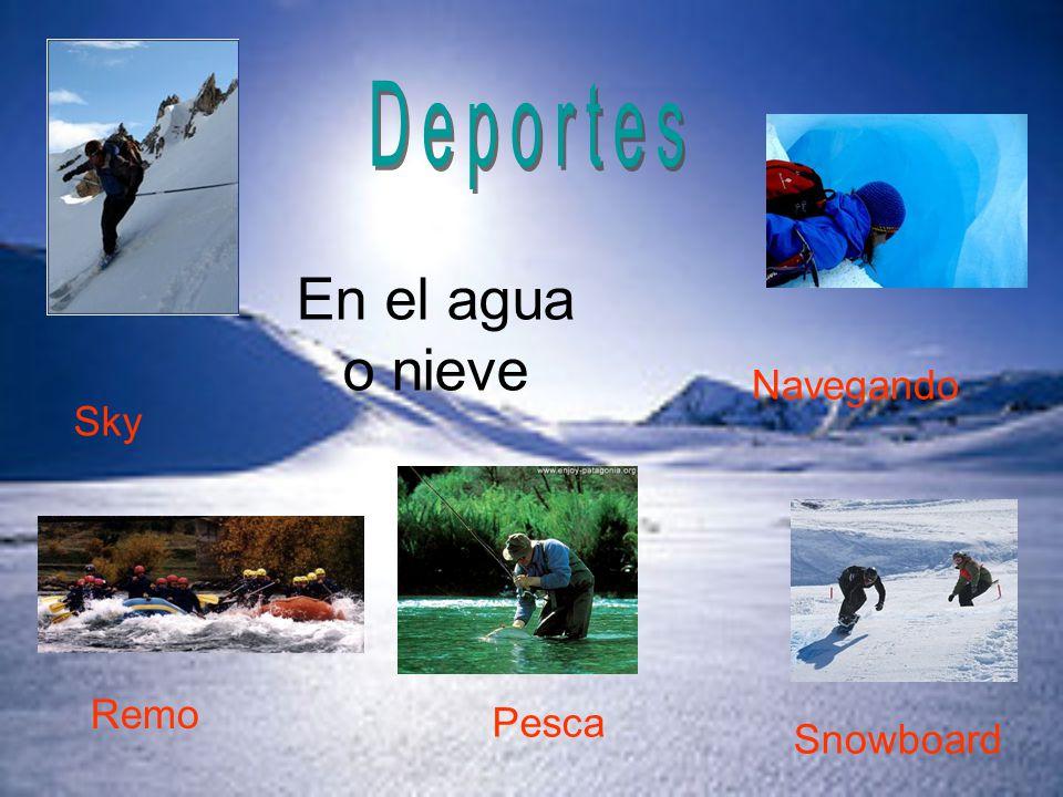 Sky Snowboard Remo En el agua o nieve Pesca Navegando