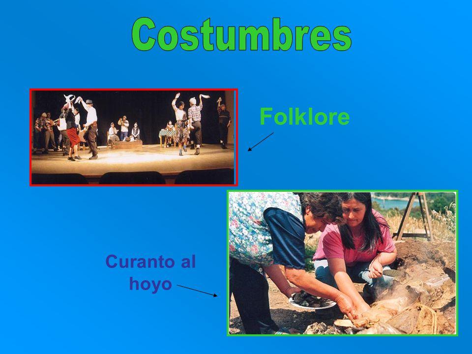 Curanto al hoyo Folklore
