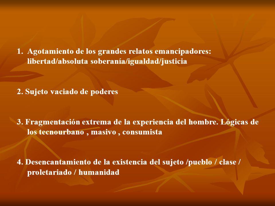 V EL LUGAR DE AMÉRICA LATINA LA COLONIZACIÓN IBÉRICA Valores y utopismos premodernos SIGLO XIX La primavera y los veranos de la modernidad.