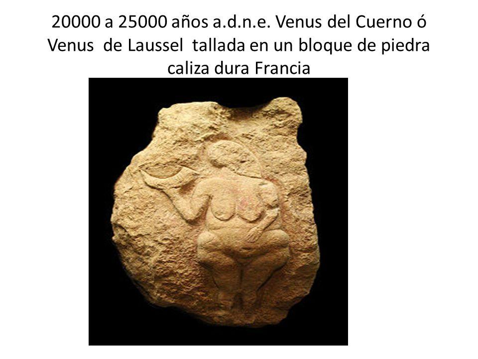 20000 a 25000 años a.d.n.e.