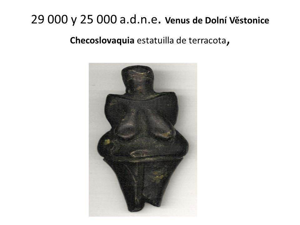 29 000 y 25 000 a.d.n.e. Venus de Dolní Věstonice Checoslovaquia estatuilla de terracota,
