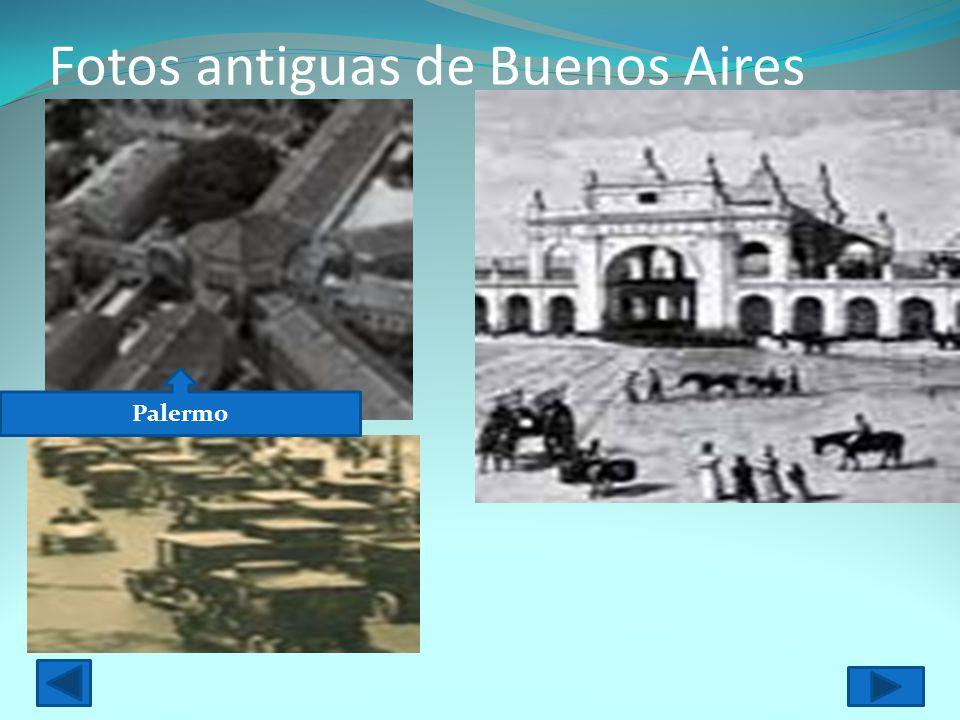 Fotos antiguas de Buenos Aires Palermo