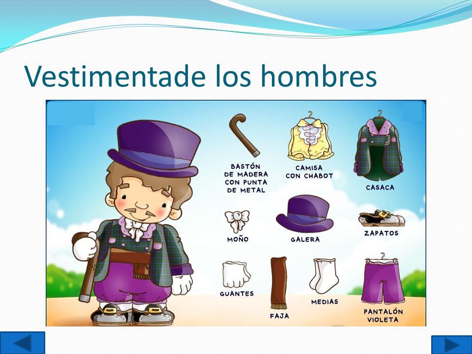 Vestimentade los hombres