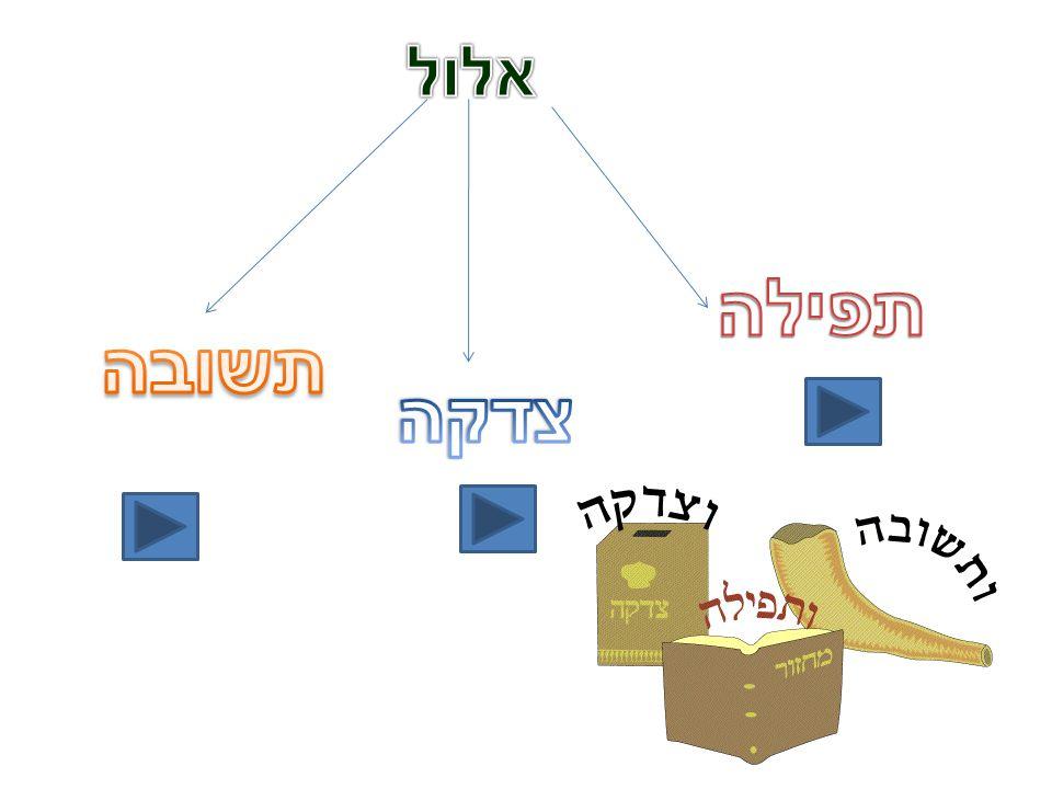 Teshuvá La palabra teshuva, en el idioma hebreo significa volver, ya que consiste en un proceso en el cual la persona judía identifica las áreas en las cuales se encuentra débil, examina sus actitudes y controla sus deseos e instintos que lo desvían del camino de d-os, retornando así a su d-os, elokim.