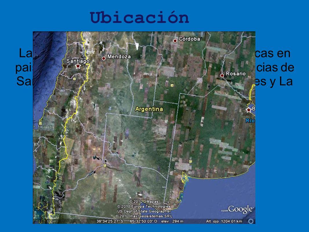 Ubicación La Llanura Pampeana es una de las mas ricas en paisaje y producción. Comprende las provincias de Santa Fe, Córdoba, Entre Ríos, Buenos Aires