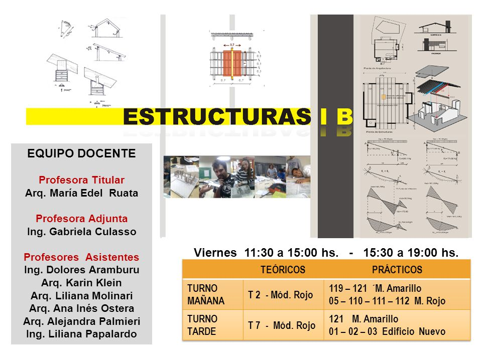 ESTRUCTURAS IB INTRODUCCIÓN TIPOS ESTRUCTURALES
