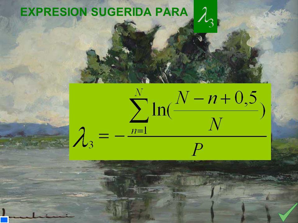 EXPRESION SUGERIDA PARA