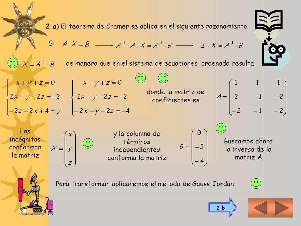 La matriz A es de clase (m x n)La matriz A´ es de clase m x (n+1) Encontradas las matrices de coeficientes (A) y ampliada (A´), debemos hallar el rang