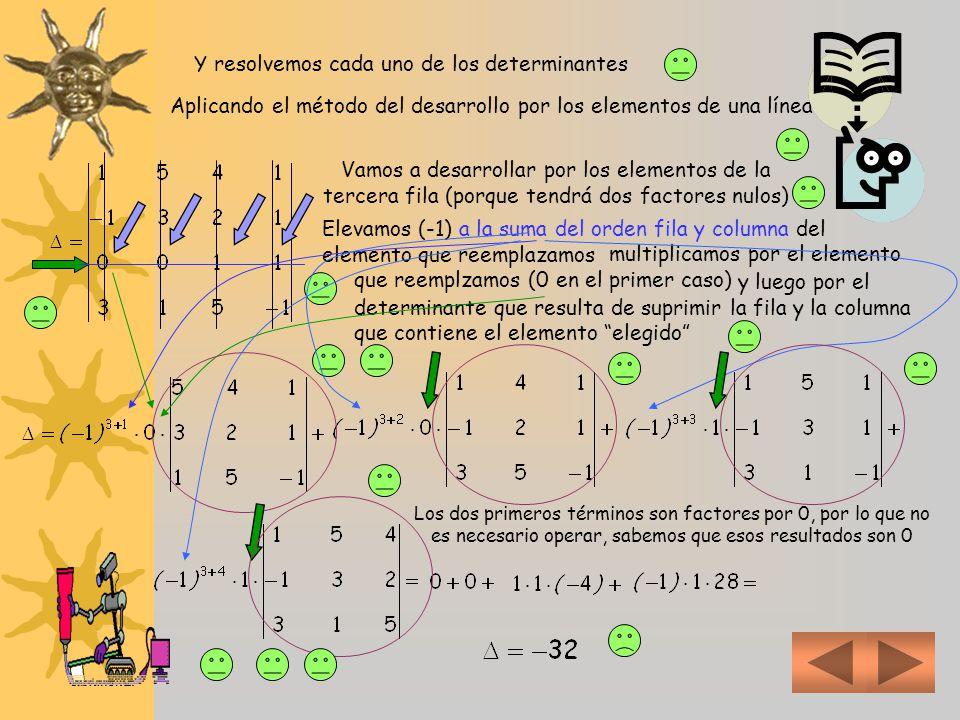 2 b) La Regla de Cramer es la aplicación generalizada para n incógnitas del método de los determinantes Para resolverordenamos el sistemay lo clasific