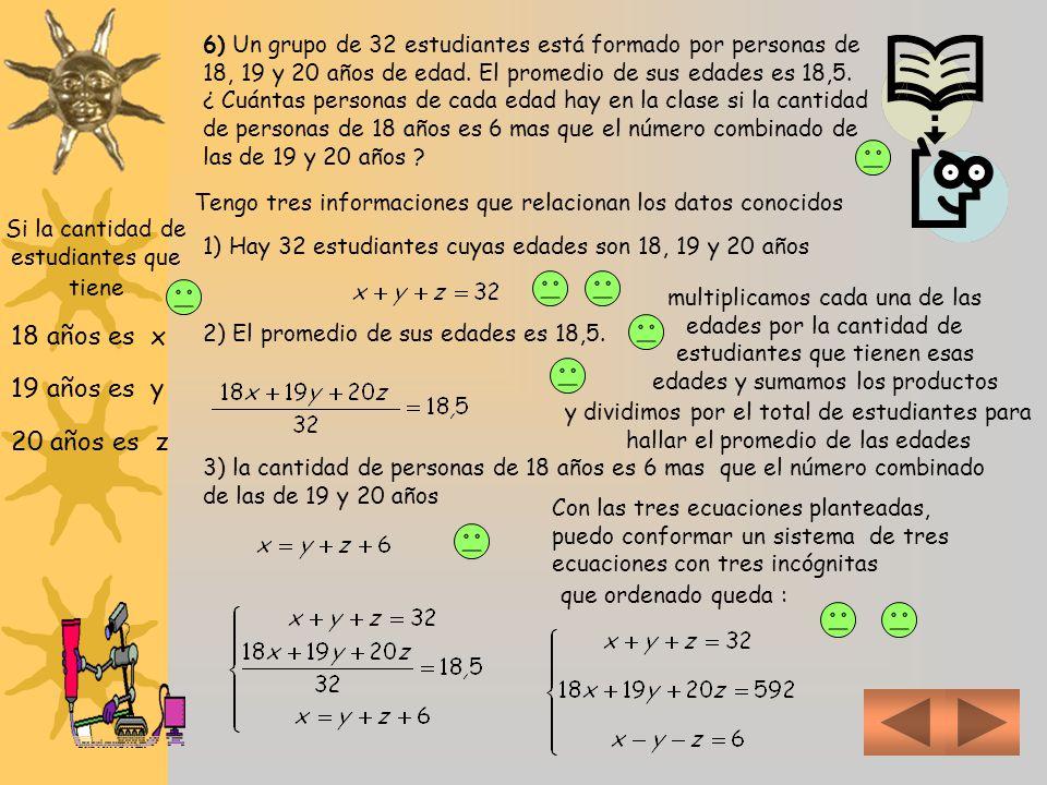 Transcribimos el resultado de la última transformación Podemos apreciar claramente que: Si m = 1, el elemento de la 2º fila, 2º columna de la matriz d