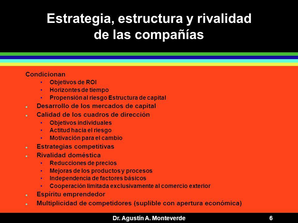Dr. Agustín A.